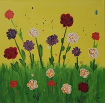 Blumenwiese von Daniela Lehmann