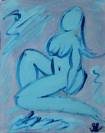 Blue Lady von Daniela Lehmann