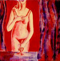 Venus mit Gral I von Patricia Ausweger Matz