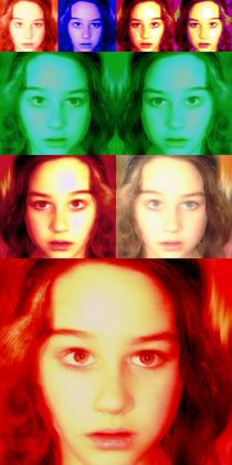 language of eyes by Patricia Ausweger Matz