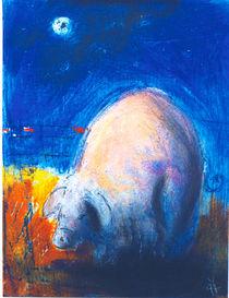 Mondschwein für Lele;- von wenzelbilderlust