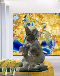 elefant allein daheim