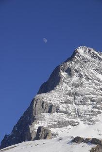 Mond und Eiger  von Marcus Finke