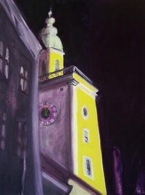 Salzburg bei Nacht by Monika Maria Weiß