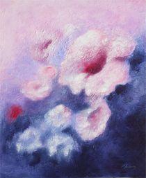 'Wunderwelt in Violett -  abstrakte Blumenbilder' by Marita Zacharias