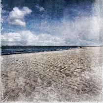 Strand und Wolken von Michael Bauer