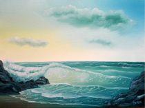 Das blaue Meer von Daniela Pohl