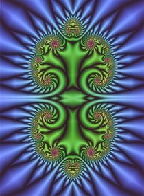 Fraktale Symmetrie von Christian Petermann