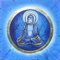Blue Buddha Akshobhya von Michael Bauer-Kempff