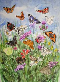 Schmetterlinge von Tanja Böhning