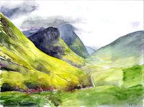 Pass von Glencoe, Schottland von Eva Pötzelsberger