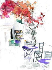 Altstadt Naxos, Griechenland, 2010 von Eva Pötzelsberger