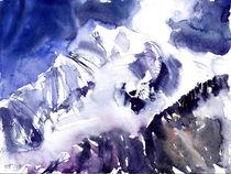 Dhaulagiri, 8167m, Nepal, 2008 von Eva Pötzelsberger