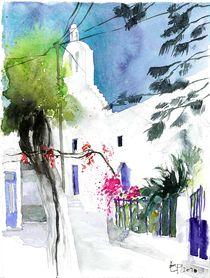 Platz auf Naxos, 2010 von Eva Pötzelsberger
