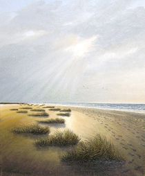 Sandstrand (Ostfriesland) von Lothar Struebbe