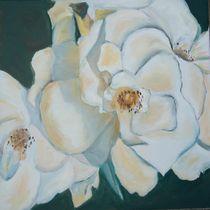 weiße Heckenrose by Beate Glüsing
