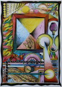 A4 Hand - Zeitspiegel 1980 A4 von Harry Stabno
