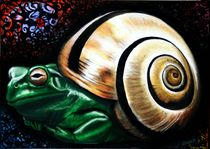 Froschneck 2008 70 x 50 cm von Harry Stabno