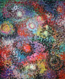 Blumenlichter 2008 50 x 60 cm von Harry Stabno
