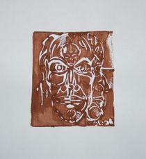 Linol 2 braun 2008 A4 von Harry Stabno
