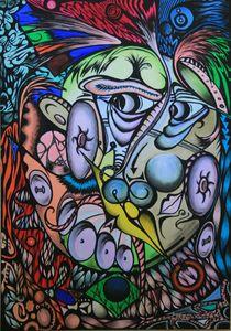 Oskar 2008 70 x 100 cm von Harry Stabno