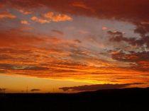 Sonnenuntergang II-2008 A4 von Harry Stabno