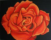 Rose - 1993 70 x 50 cm VERKAUFT ! von Harry Stabno