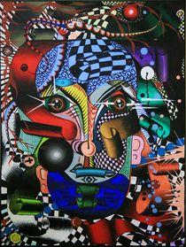 Bandolin 2009 60 x 80 cm von Harry Stabno