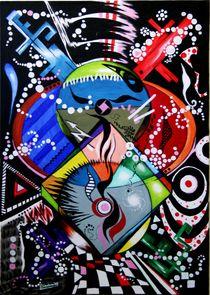Blitzart 2009 50 x 70 cm VERKAUFT ! von Harry Stabno