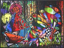 Urwald-Symphonie 2010 80 x 60 cm von Harry Stabno