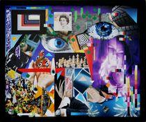 Schach - 2011 53 x 43 cm by Harry Stabno