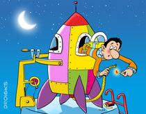 Raketenstart mit Tücken by droigks