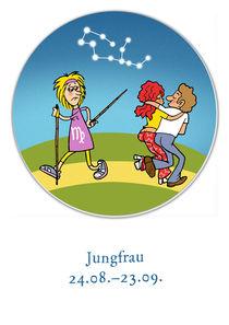 Sternzeichen Jungfrau by droigks