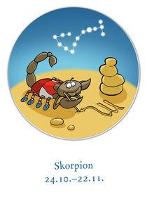 Sternzeichen Skorpion von droigks