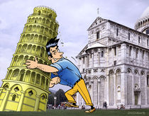 Der schiefe Turm von Pisa by droigks