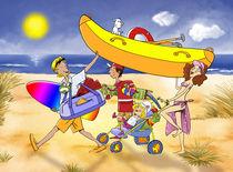 Fahr in Urlaub von droigks