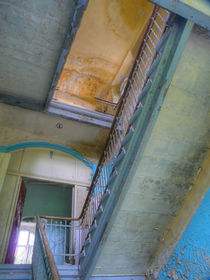 Beelitz Heilstätten - Treppenhaus von Ralf Schröer