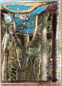 Waldkreuz von Britta Franke