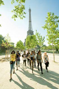 Paris, Eiffelturm von Lutz Wallroth