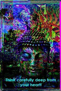 buddhaheart von Britta Franke