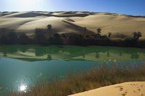 Um El Ma 2 - Wasser in der Wüste by werner gaisbauer