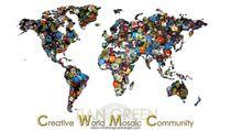 Creative World Mosaic Community TIAN GREEN von christian grünberger TIAN GREEN