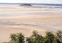 Wattenmeer in der Normandie von Astrid Isensee