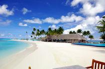 Strand Malediven von Heike Loos