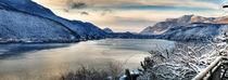 Panorama Lago Lugano von Heike Loos