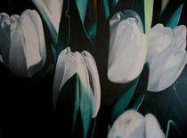 Weisse Tulpen von Eckhard Besuden