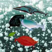 Unterwasserwelt von Yvonne Habenicht
