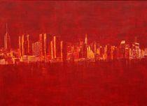 New York and East River von artvonamelung
