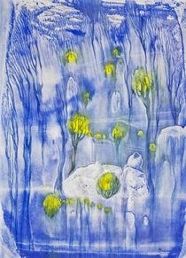 Frühjahrswald von Olga Krämer-Banas