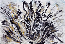 Zebra 2 von Olga Krämer-Banas